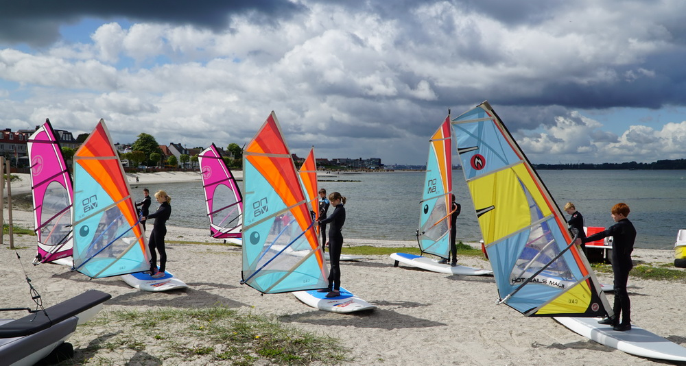 Projekt Windsurfen