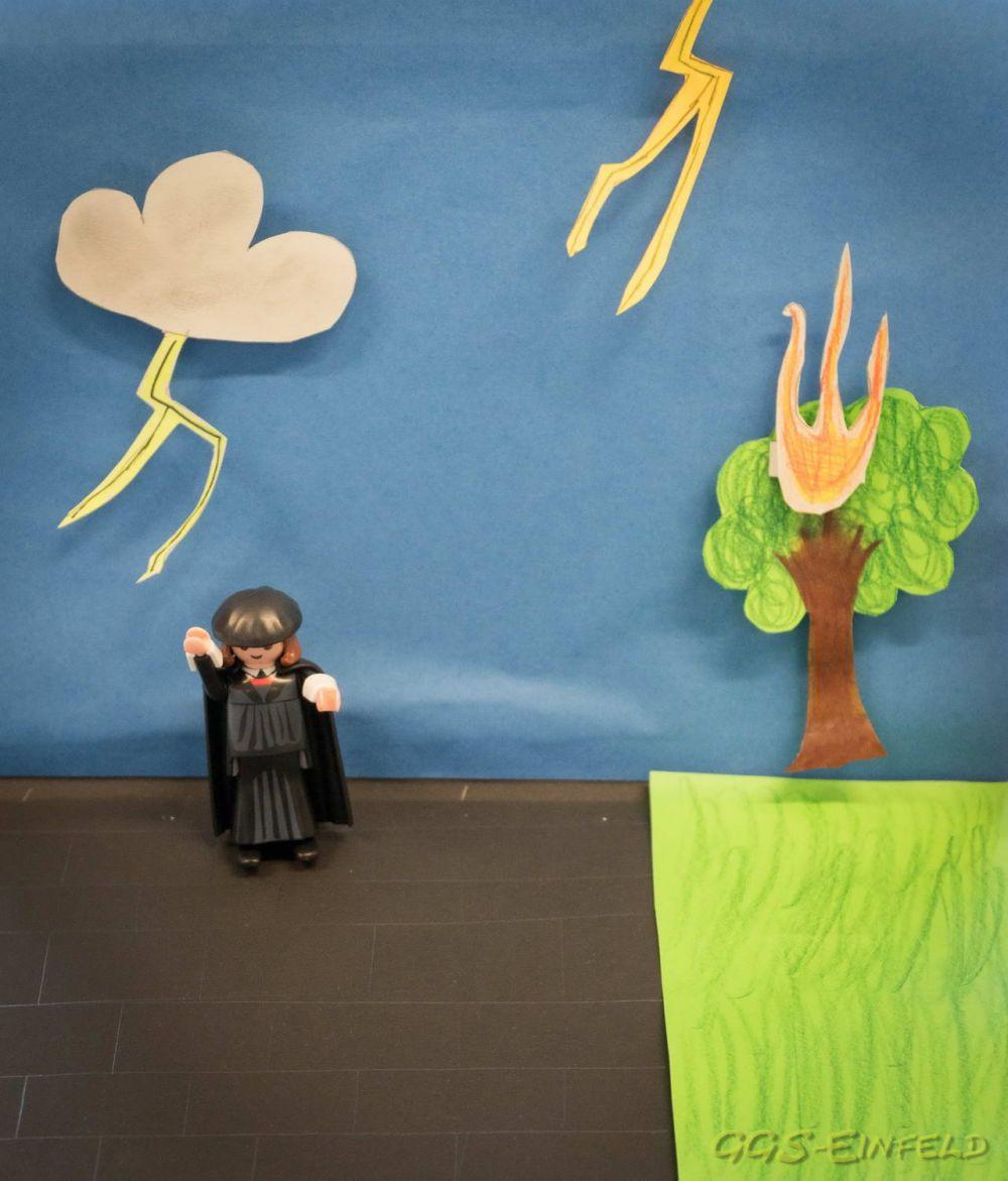 Das Leben Martin Luthers in Bildern